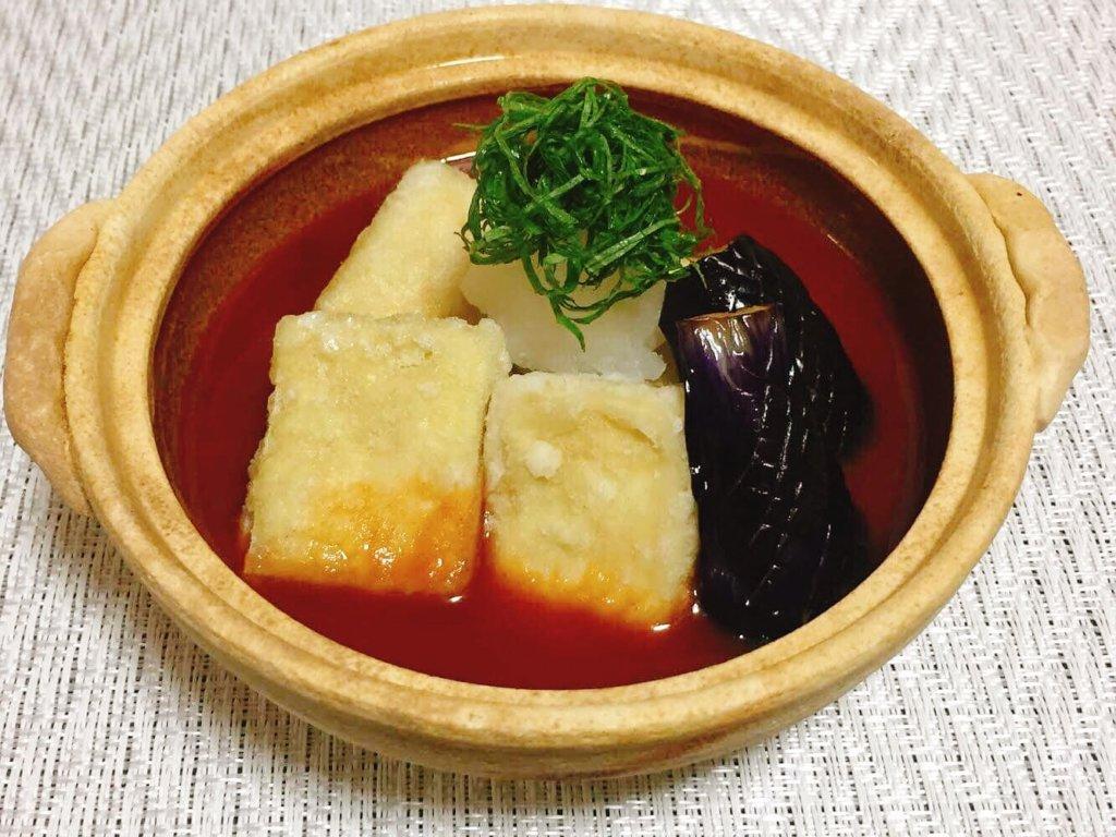 【上野貴史シェフレシピvol.2】「感動の完全食」高野豆腐のなめらか揚げ出しの作り方