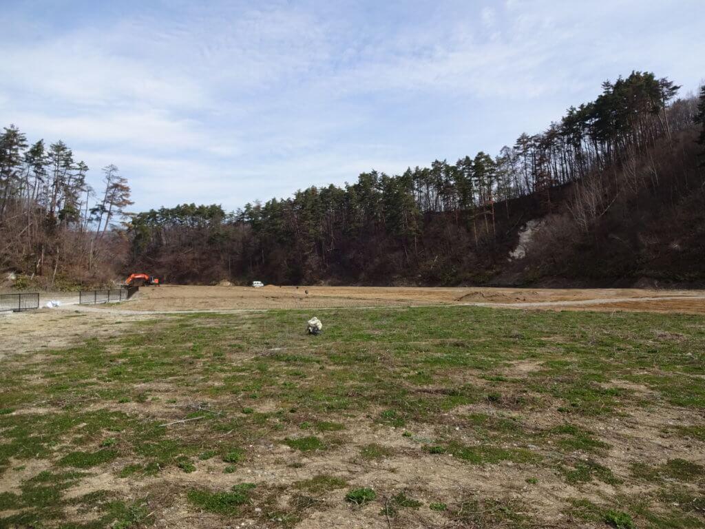 浅川ダムの土の様子