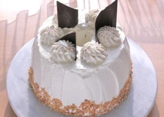 チョコシフォンケーキの完成品