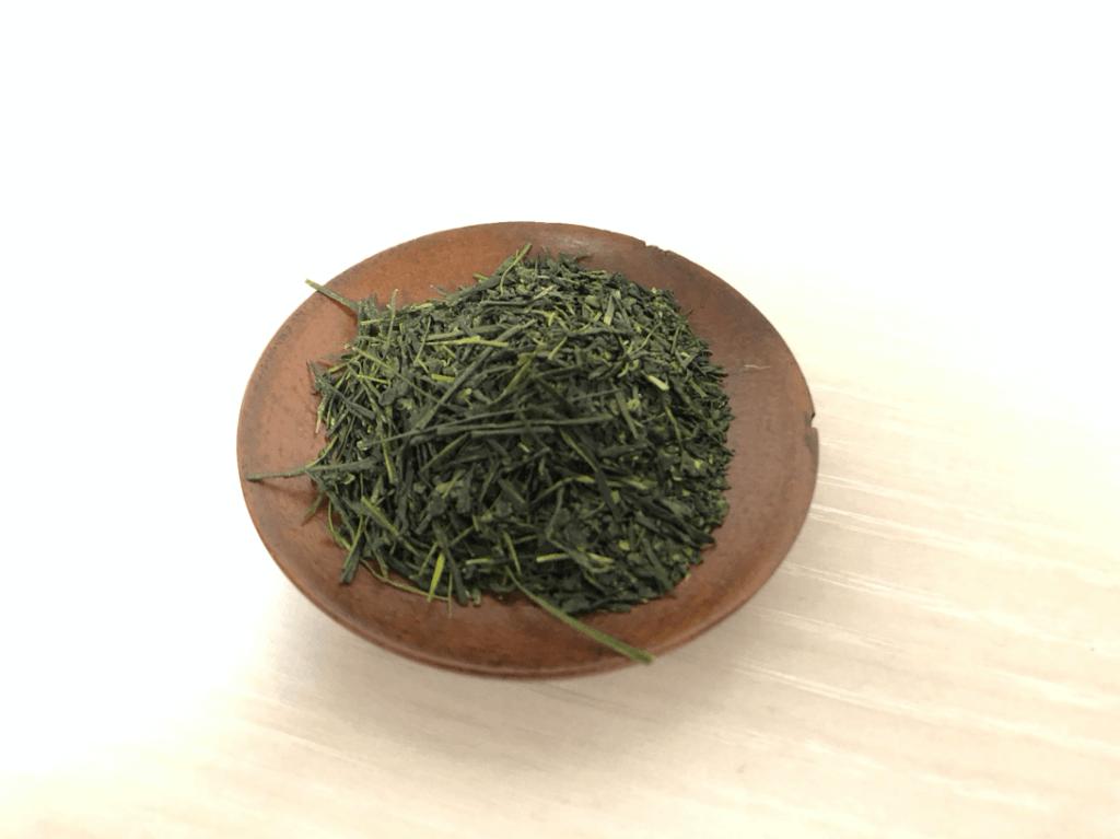 埼玉県狭山市の奥富園製茶の「萎凋ふくみどり」の茶葉