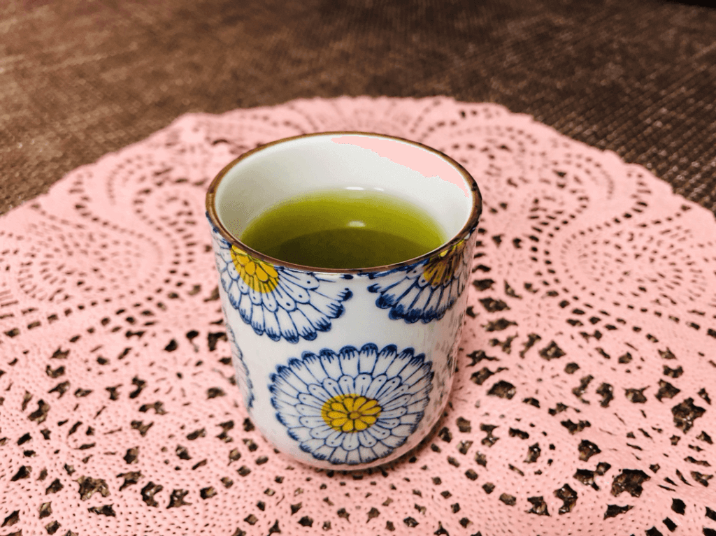 埼玉県狭山市の奥富園製茶の「萎凋ふくみどり」で淹れたお茶
