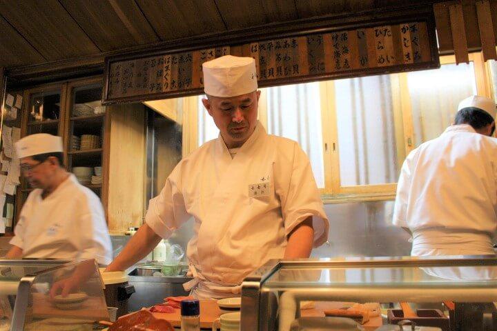 㐂寿司<店内の様子