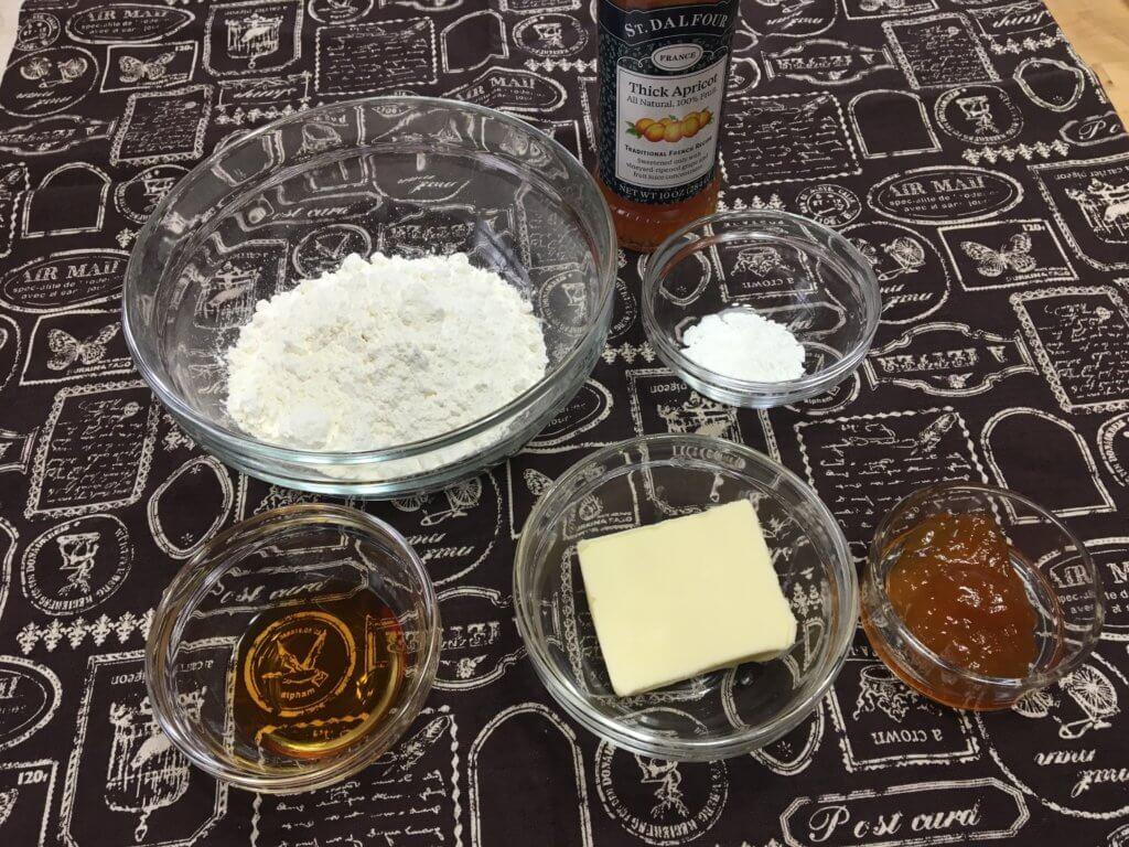 ウィークエンド(レモン風味)の生地材料