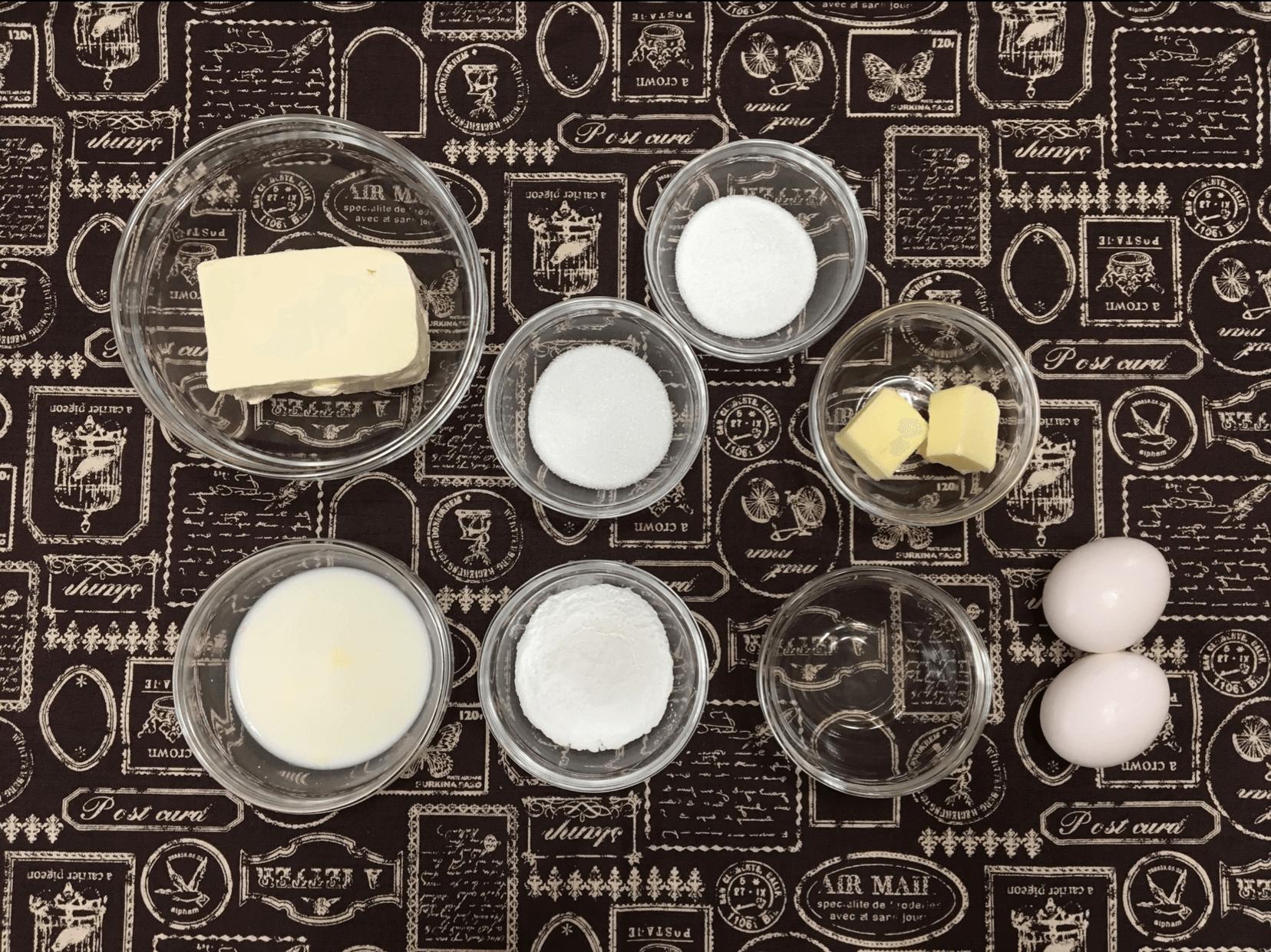 クリームチーズ生地